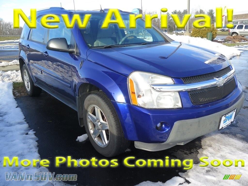 2005 Equinox LT AWD - Laser Blue Metallic / Light Gray photo #1