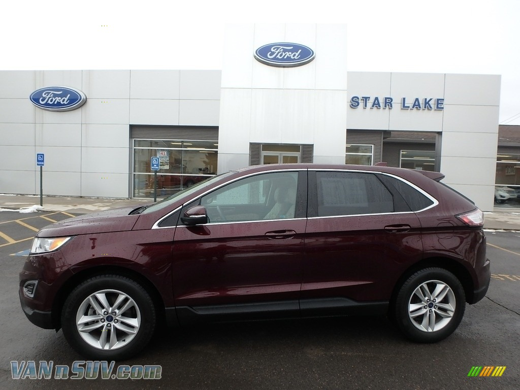 2017 Edge SEL - Burgundy Velvet Metallic / Dune photo #1