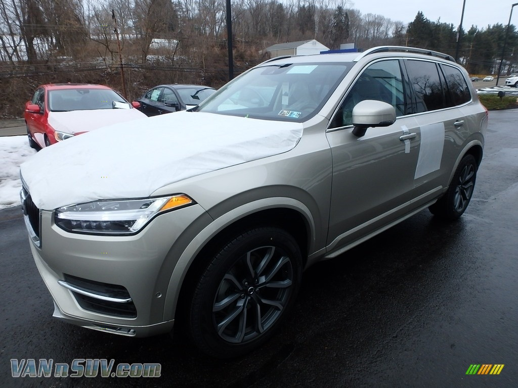 2018 XC90 T6 AWD - Luminous Sand Metallic / Blonde photo #5