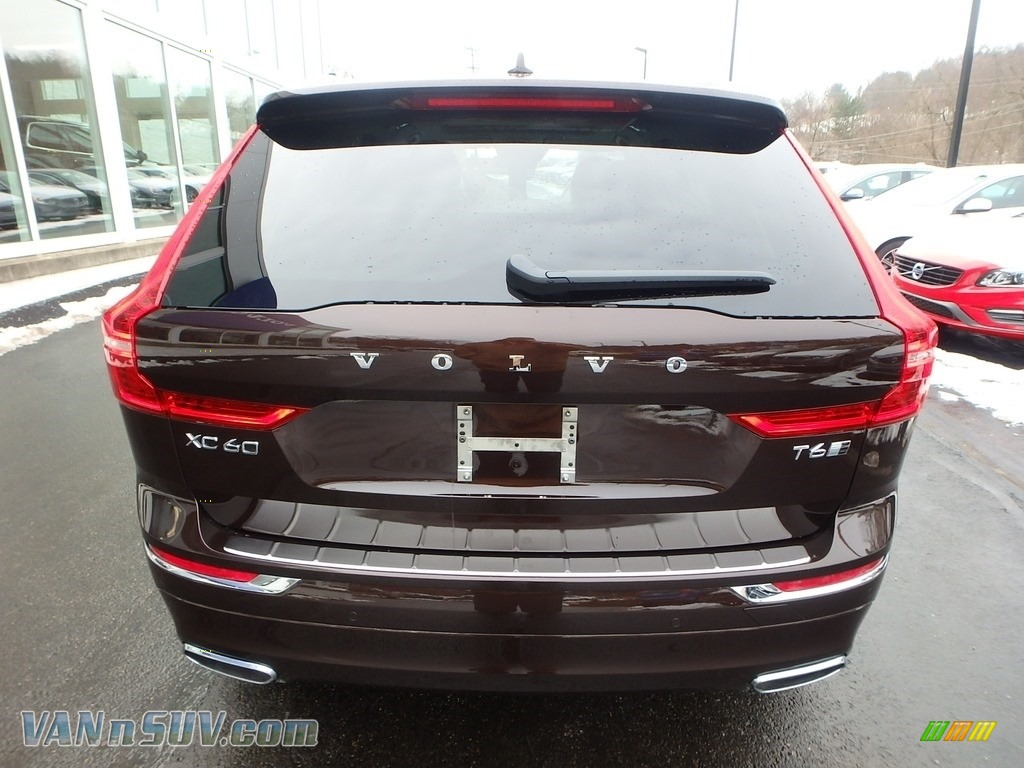 2018 XC60 T6 AWD Inscription - Maple Brown Metallic / Blonde photo #3