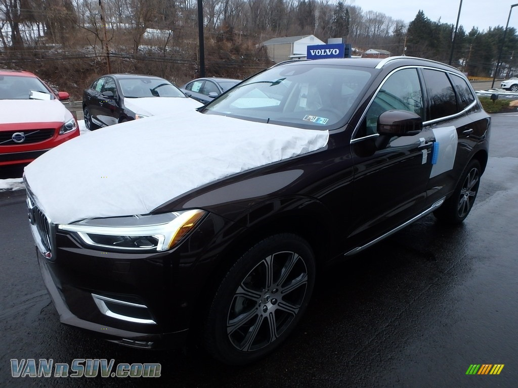 2018 XC60 T6 AWD Inscription - Maple Brown Metallic / Blonde photo #5