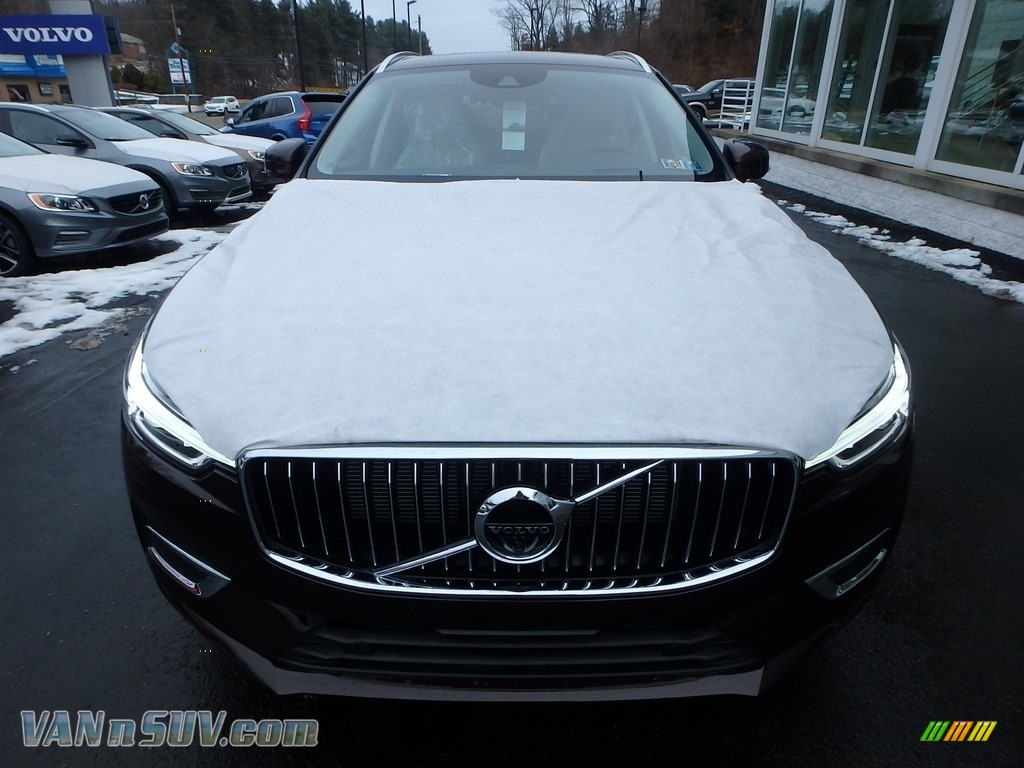 2018 XC60 T6 AWD Inscription - Maple Brown Metallic / Blonde photo #6