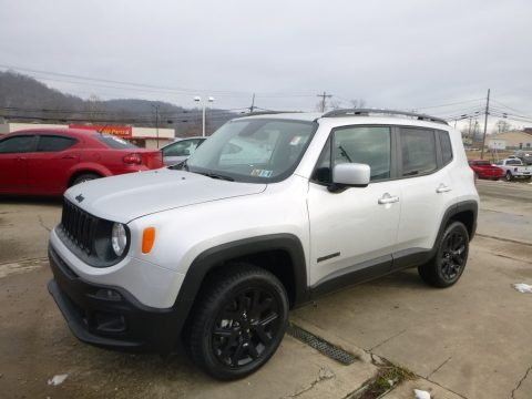 Glacier Metallic 2017 Jeep Renegade Latitude 4x4