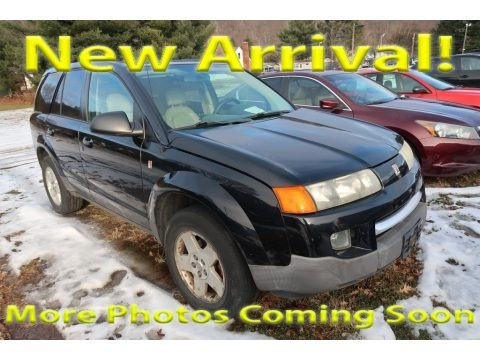 Black Onyx 2004 Saturn VUE V6 AWD