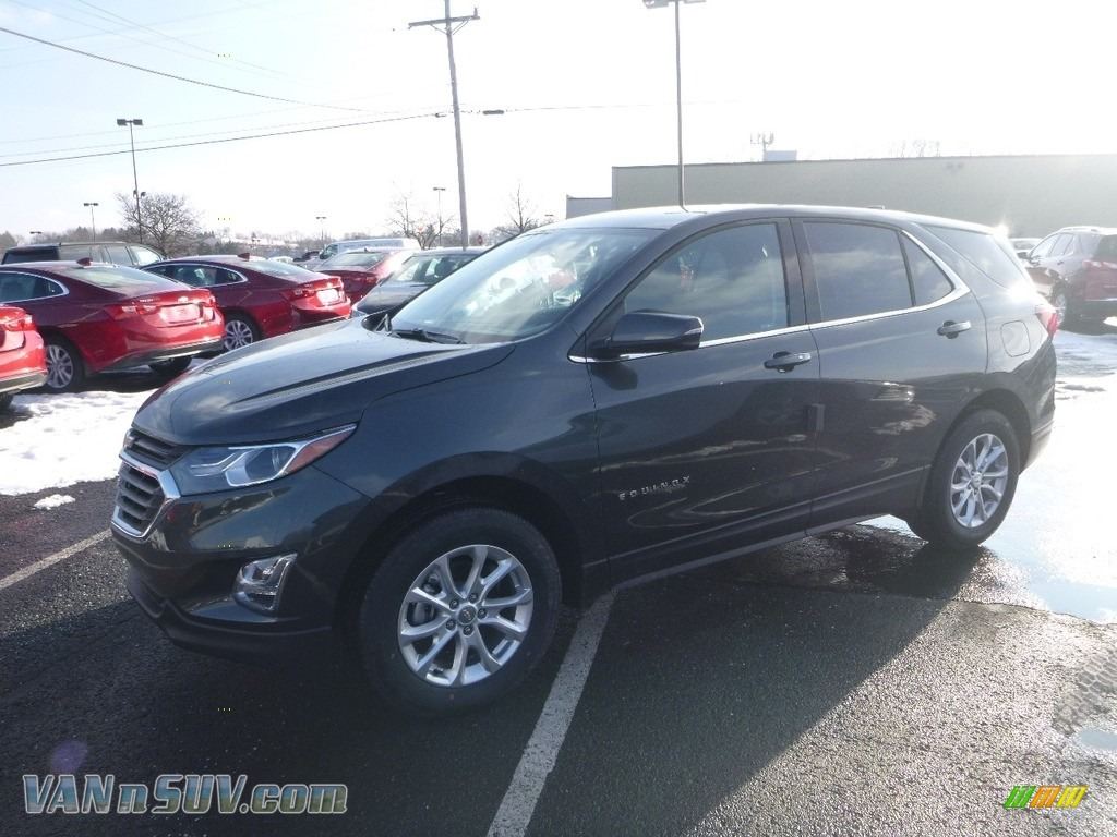 2018 Equinox LT AWD - Nightfall Gray Metallic / Jet Black photo #1