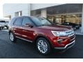 Ford Explorer Limited Ruby Red photo #1