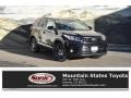 Toyota Highlander SE AWD Midnight Black Metallic photo #1