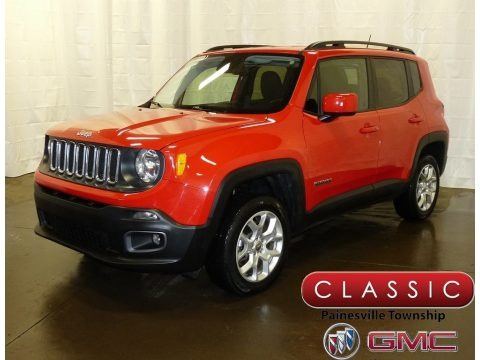 Colorado Red 2017 Jeep Renegade Latitude 4x4
