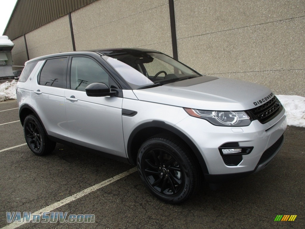 2018 Discovery Sport HSE - Indus Silver Metallic / Ebony photo #1