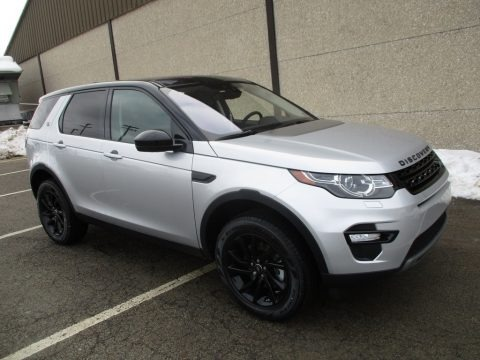 Indus Silver Metallic 2018 Land Rover Discovery Sport HSE