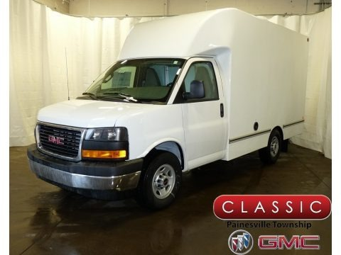 Summit White 2017 GMC Savana Cutaway 3500 Commercial Moving Truck