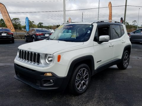 Alpine White 2017 Jeep Renegade Limited