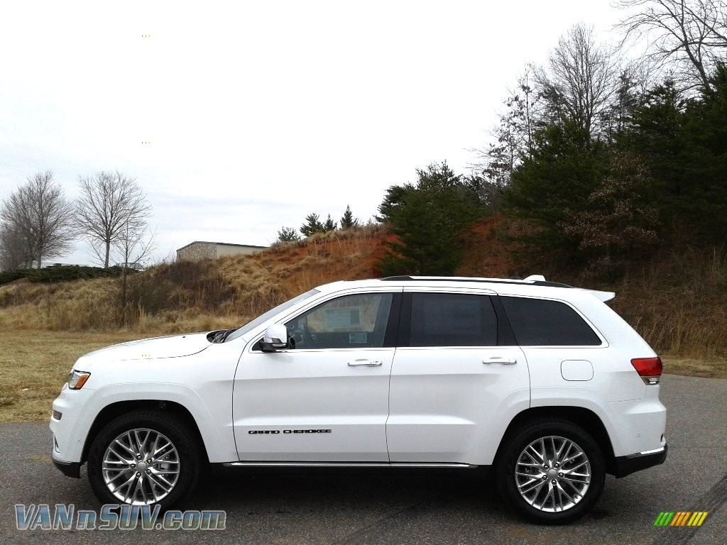 2018 Grand Cherokee Summit 4x4 - Bright White / Black photo #1
