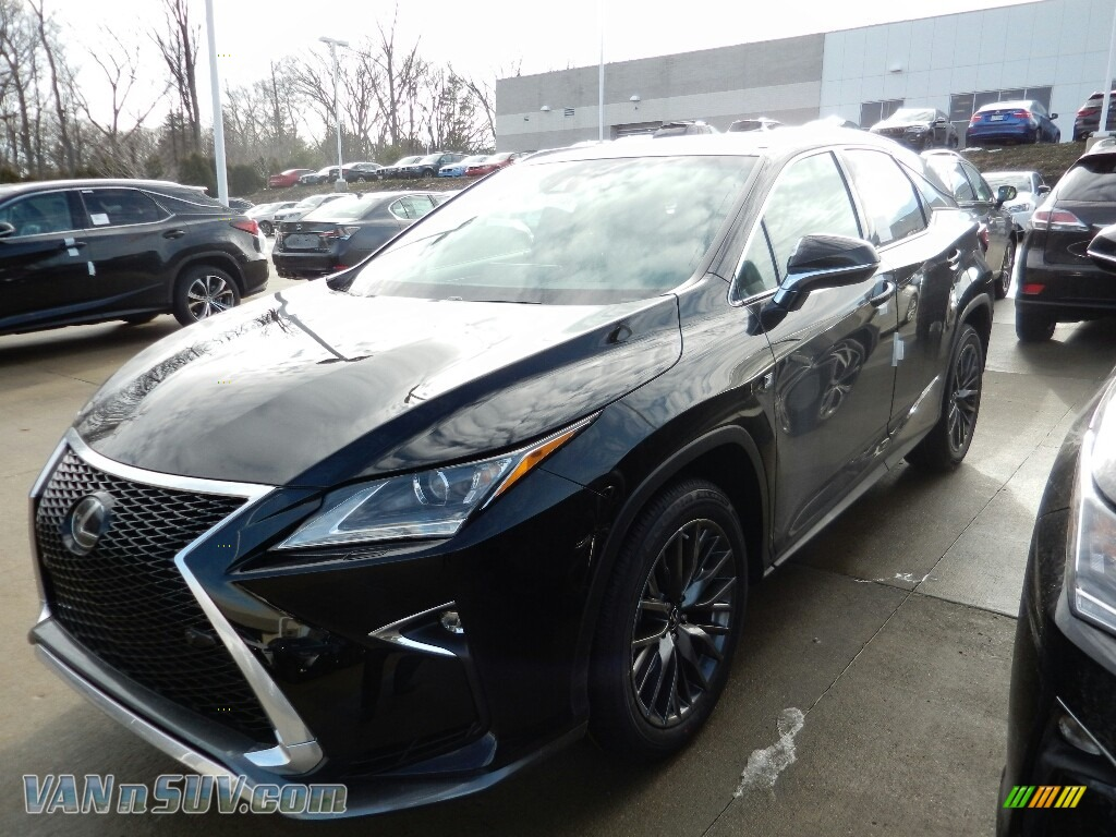 2018 RX 350 AWD - Obsidian / Black photo #1
