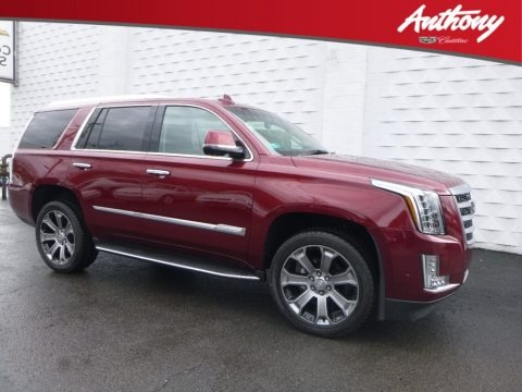 Red Passion Tintcoat 2018 Cadillac Escalade Premium Luxury 4WD