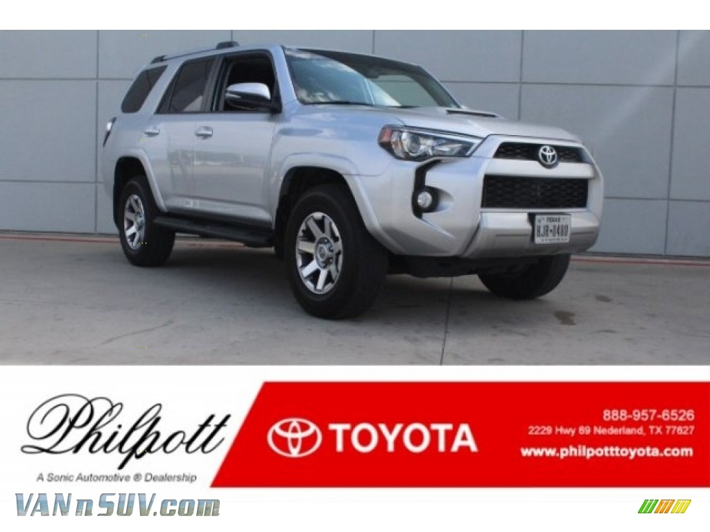 2016 4Runner Trail Premium 4x4 - Classic Silver Metallic / Black photo #1