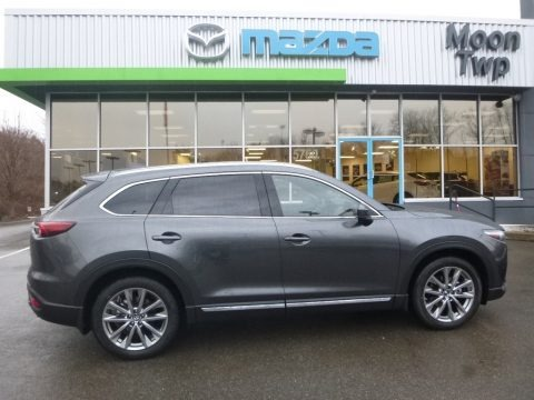 Machine Gray Metallic 2018 Mazda CX-9 Signature AWD