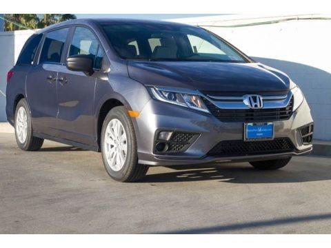 Modern Steel Metallic 2018 Honda Odyssey LX