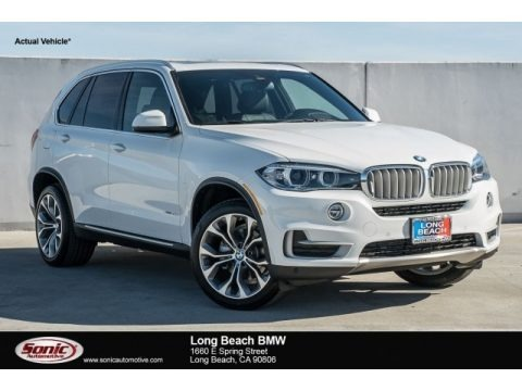 Alpine White 2018 BMW X5 xDrive35d