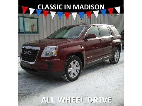 Crimson Red Tintcoat 2016 GMC Terrain SLE AWD