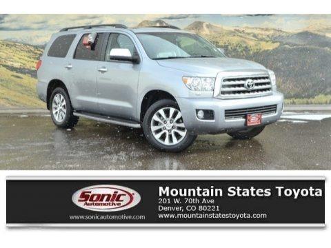 Silver Sky Metallic 2016 Toyota Sequoia Limited 4x4
