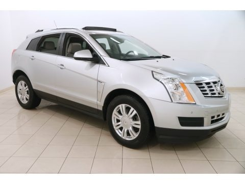 Radiant Silver Metallic 2014 Cadillac SRX Luxury