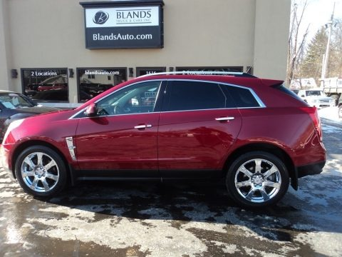 Crystal Red Tintcoat 2012 Cadillac SRX Performance