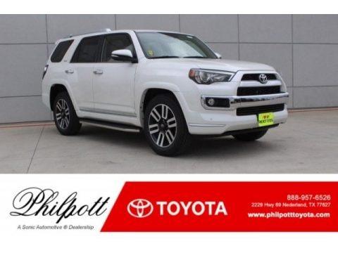 Blizzard White Pearl 2018 Toyota 4Runner Limited