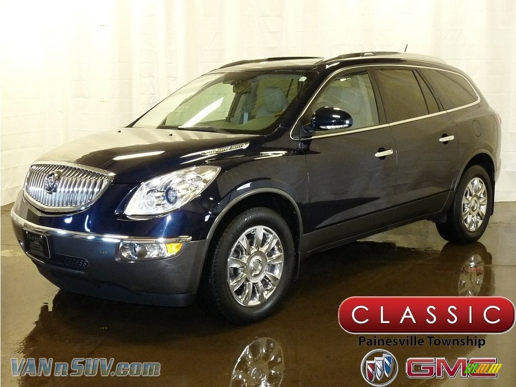 2011 Enclave CXL - Ming Blue Metallic / Titanium/Dark Titanium photo #1