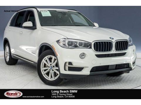 Mineral White Metallic 2015 BMW X5 xDrive35d