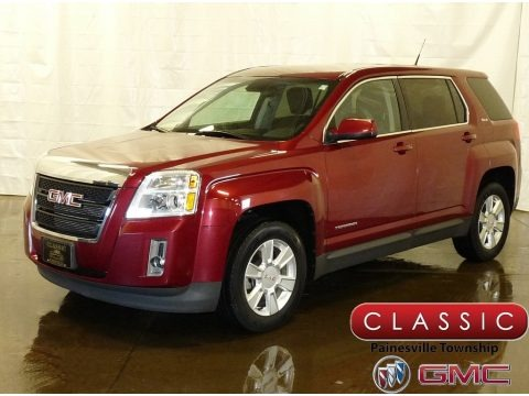 Merlot Jewel Metallic 2012 GMC Terrain SLE