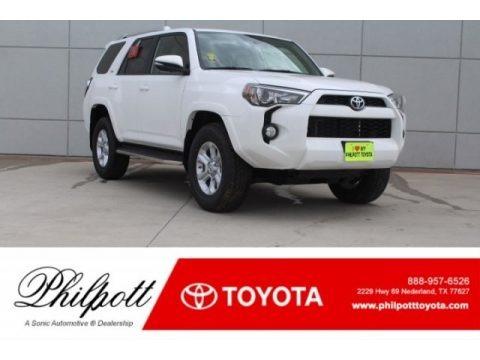 Super White 2018 Toyota 4Runner SR5 4x4