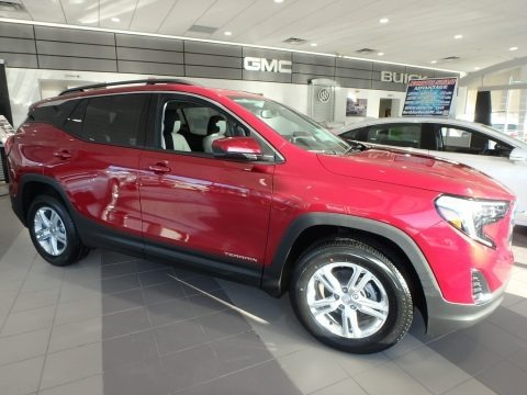 Red Quartz Tintcoat 2018 GMC Terrain SLE AWD