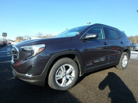 Blue Steel Metallic 2018 GMC Terrain SLE AWD