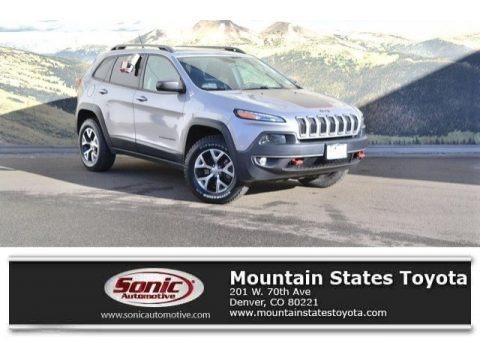 Billet Silver Metallic 2014 Jeep Cherokee Trailhawk 4x4