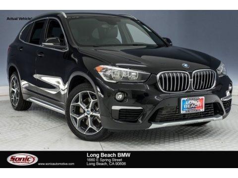 Jet Black 2018 BMW X1 sDrive28i