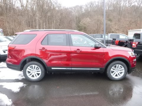 Ruby Red 2018 Ford Explorer XLT 4WD