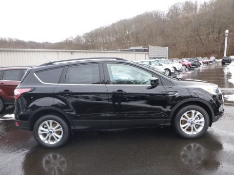 Shadow Black 2018 Ford Escape SE 4WD