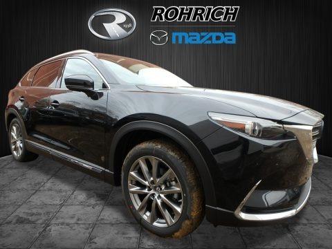 Jet Black Mica 2018 Mazda CX-9 Signature AWD
