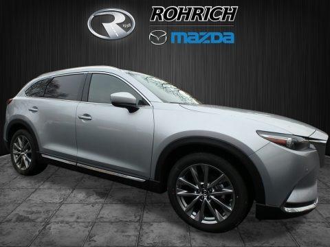 Sonic Silver Metallic 2018 Mazda CX-9 Signature AWD
