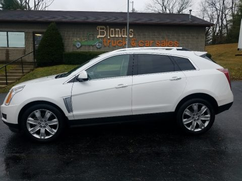 Platinum Ice Tricoat 2015 Cadillac SRX Luxury AWD