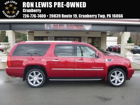 Crystal Red Tintcoat 2013 Cadillac Escalade ESV Luxury AWD