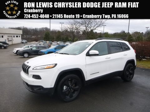 Bright White 2018 Jeep Cherokee Limited 4x4