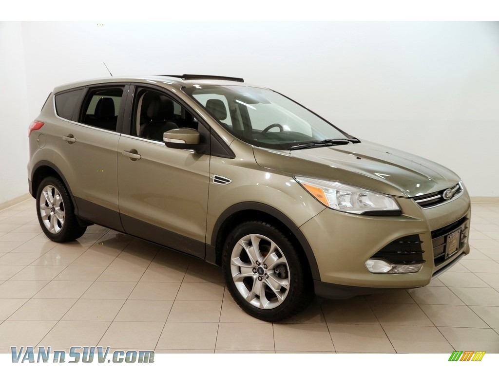 2013 Escape SEL 1.6L EcoBoost 4WD - Ginger Ale Metallic / Charcoal Black photo #1