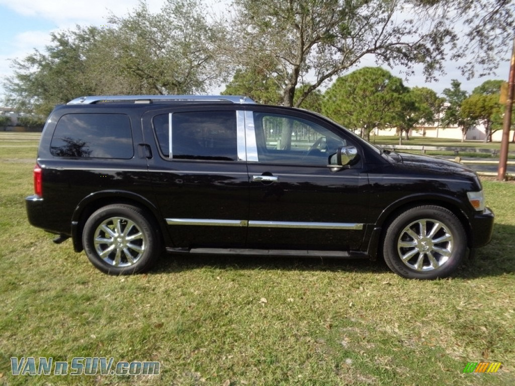 2007 QX 56 - Liquid Onyx Black / Graphite Black photo #12