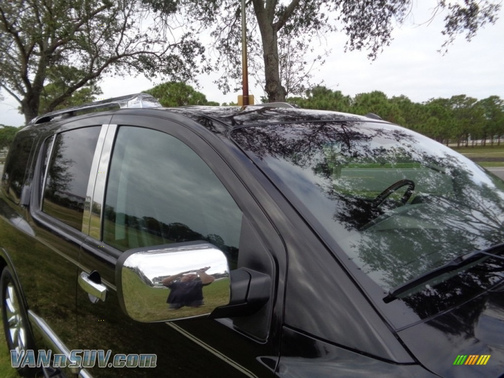 2007 QX 56 - Liquid Onyx Black / Graphite Black photo #24