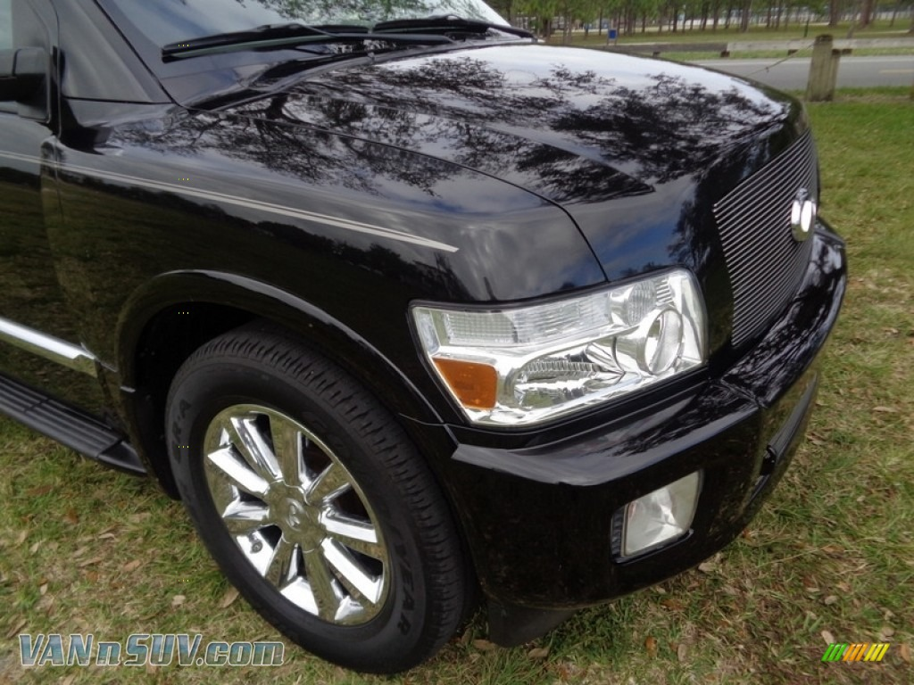 2007 QX 56 - Liquid Onyx Black / Graphite Black photo #31