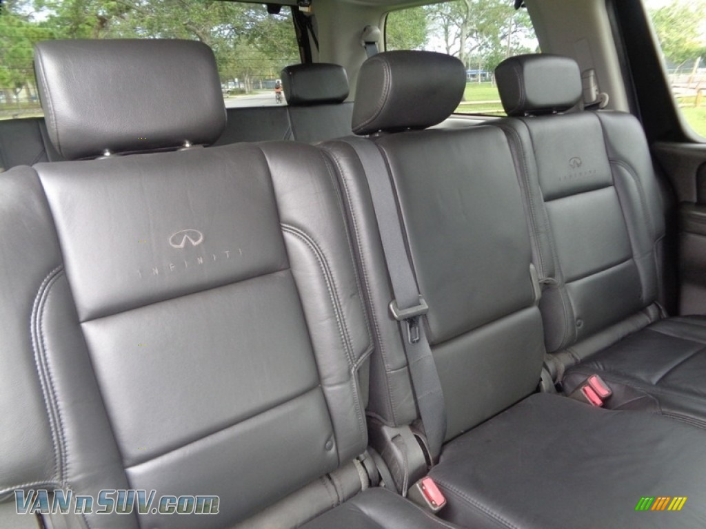 2007 QX 56 - Liquid Onyx Black / Graphite Black photo #40