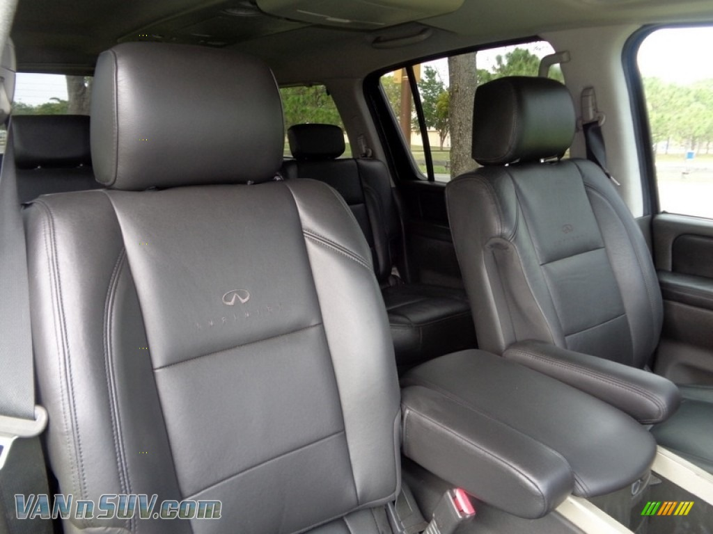 2007 QX 56 - Liquid Onyx Black / Graphite Black photo #42
