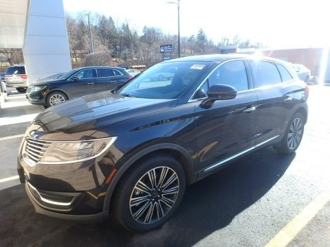 Chroma Couture Dark Brown 2017 Lincoln MKX Black Label AWD